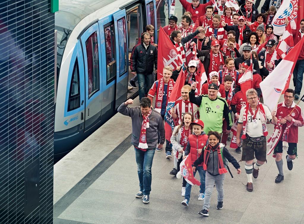 """Siemens ist offizieller """"Performance Partner"""" des FC Bayern München und des FC Bayern Basketball."""