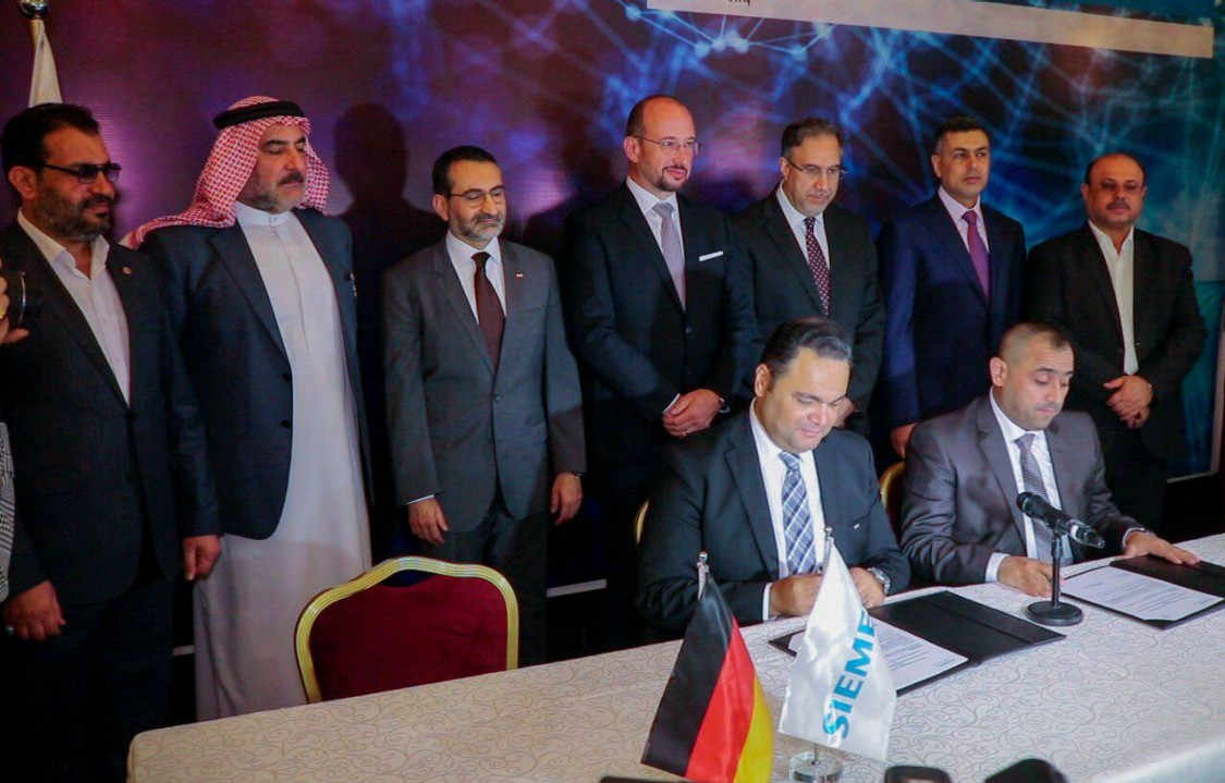 Siemens and Government of Iraq sign contracts for 13 substations to strengthen energy grid