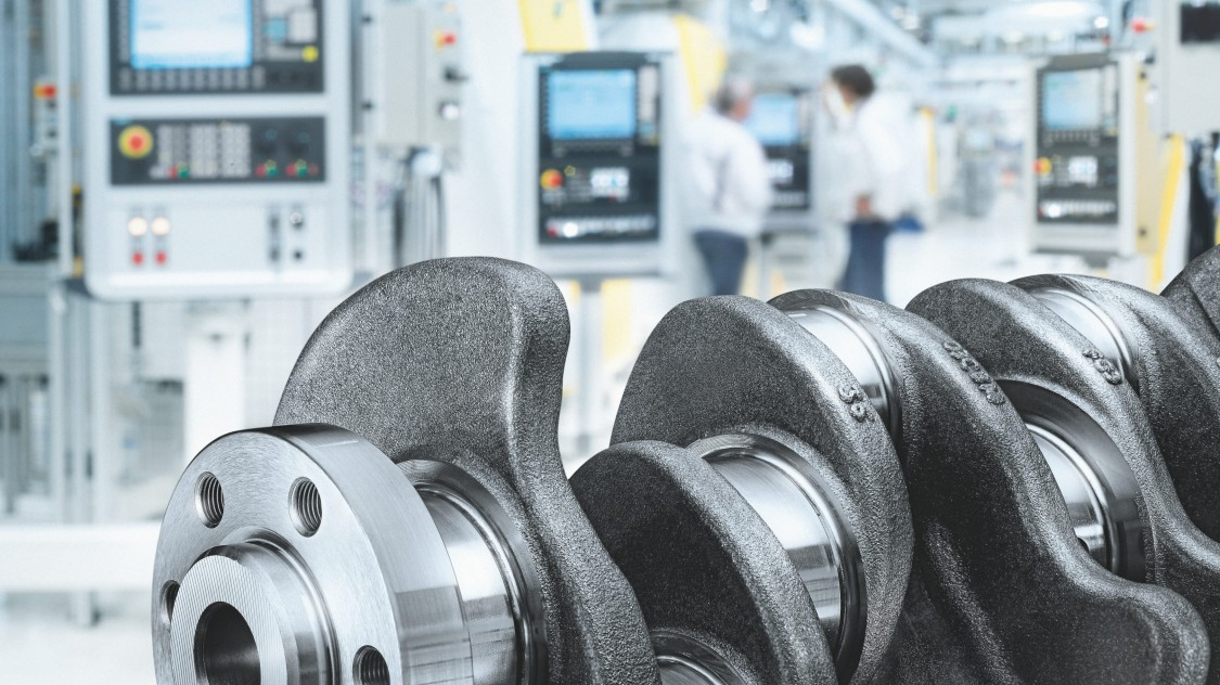 CNC in der Automobilindustrie, Motoren-Fertigung