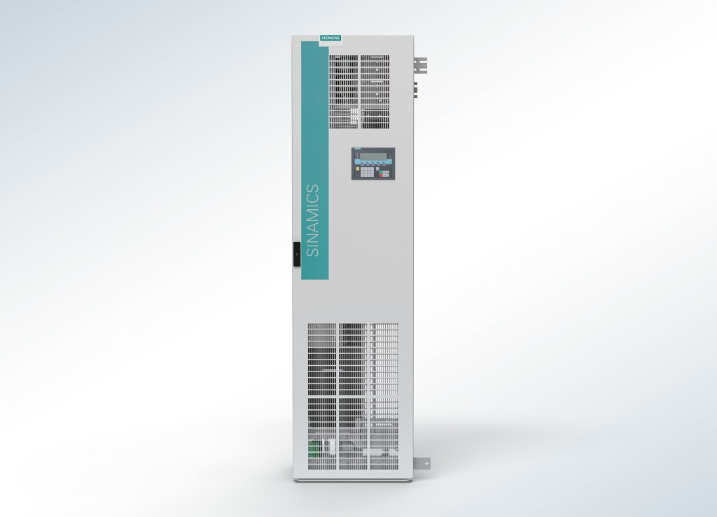 The cabinet system Sinamics S120 Cabinet Modules-2 combines all the innovative benefits.