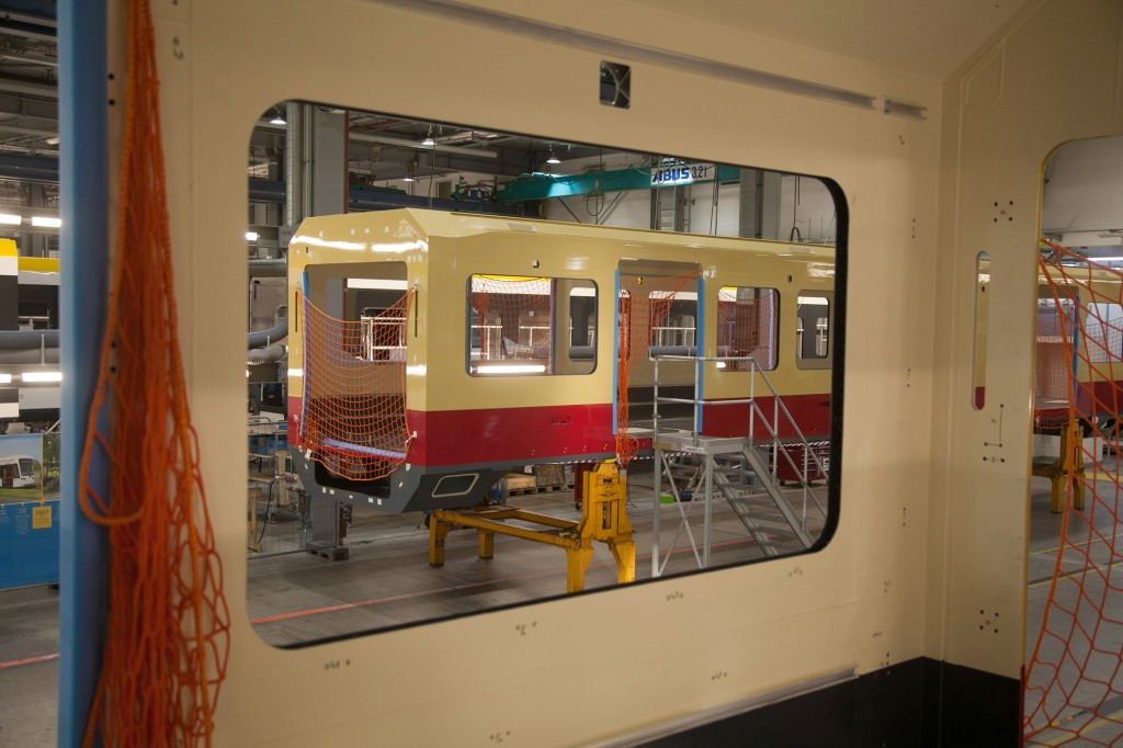Start of final assembly for Berlin's new S-Bahn trains