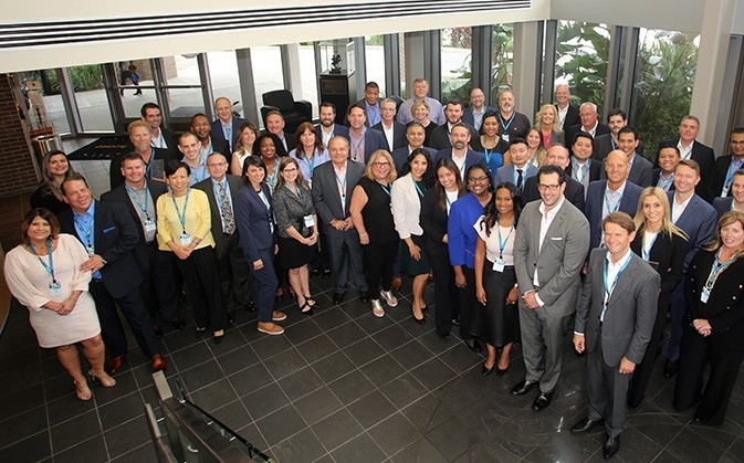 A group picture of the 2019 Siemens Supplier Diversity Awards