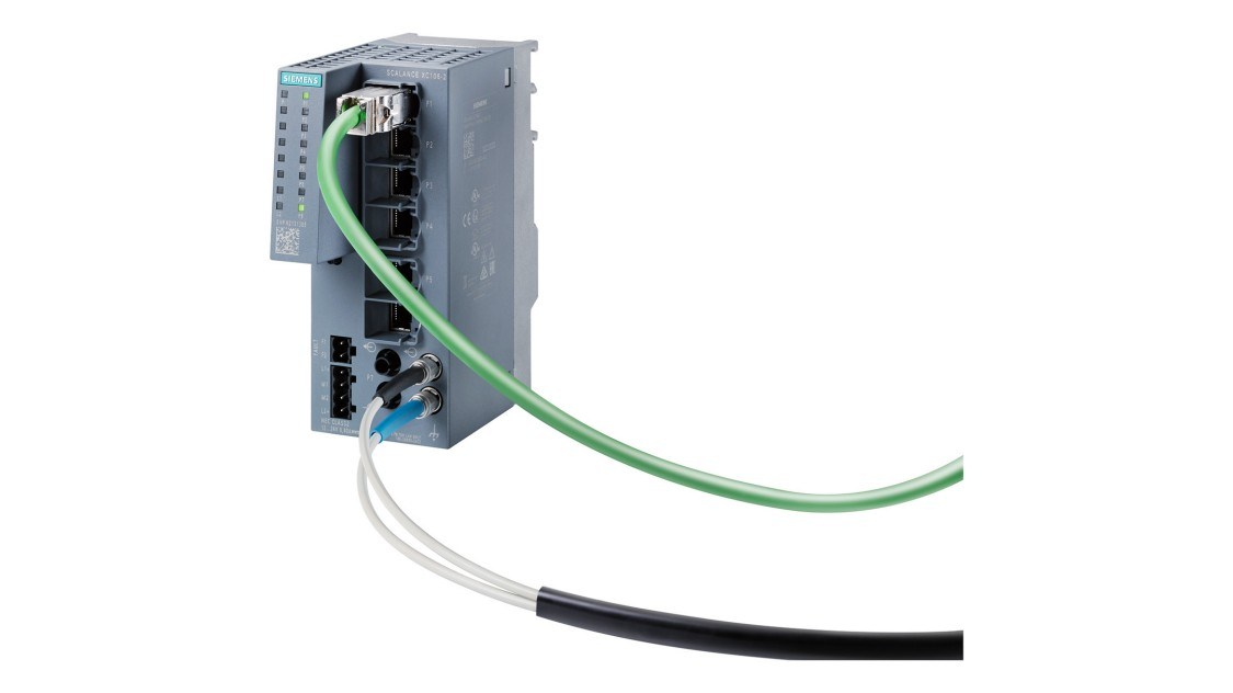 Image of a SCALANCE XC-100 unmanaged Industrial Ethernet switch