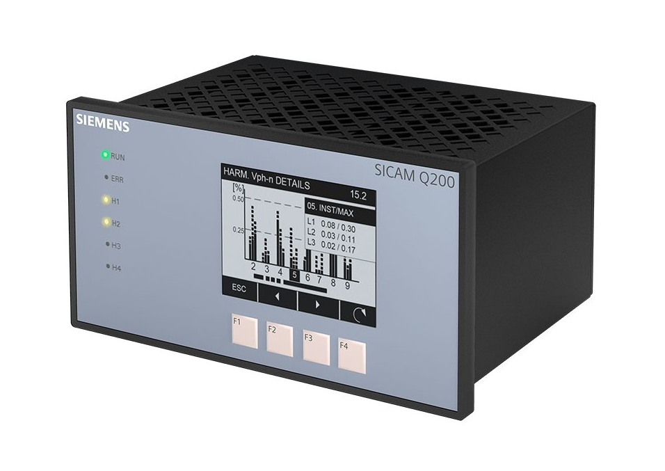 Power Quality Recorder SICAM Q200 Frontansicht