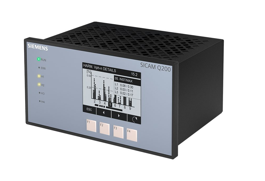 Power quality instrument SICAM Q200 perspective view