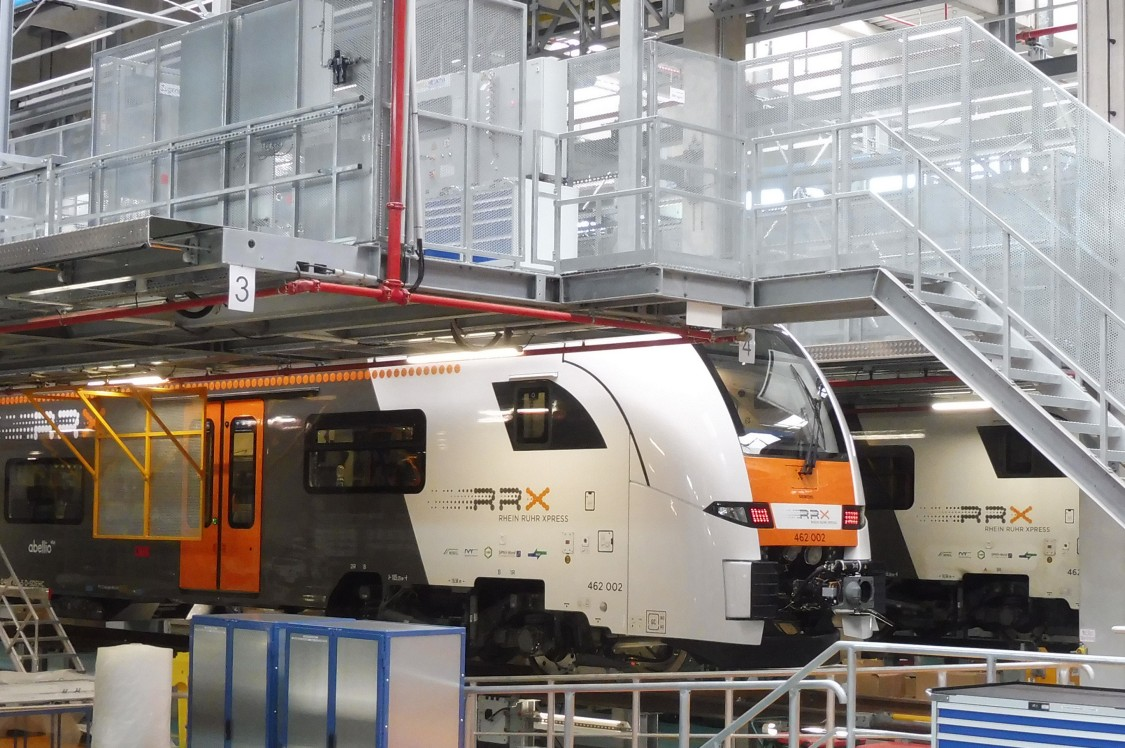 Desiro HC RRX at the Rail Service Center