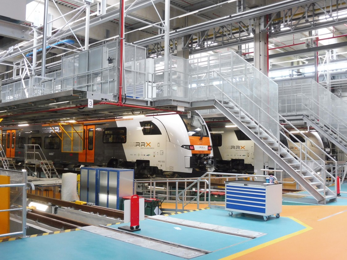 Image of the Rhein Ruhr Xpress: a train that offers a safer, more hygienic passenger experience during the COVID-19 crises