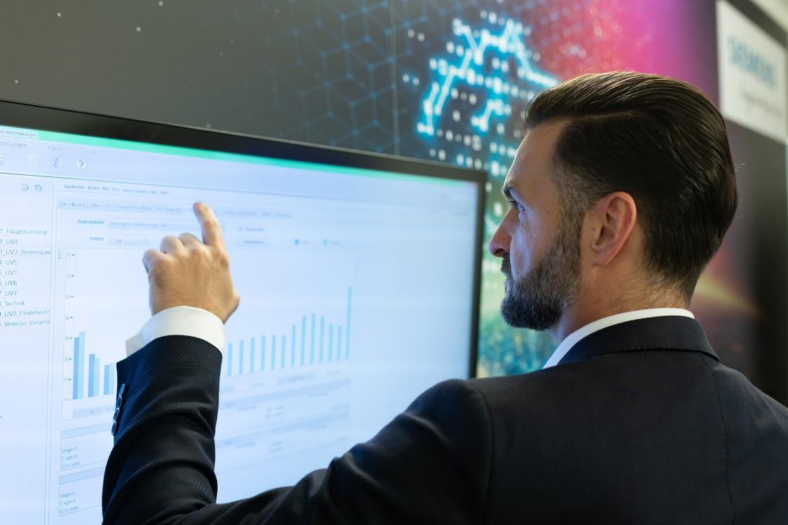 Energiemonitoring-Lösung von Siemens für Rexel Germany