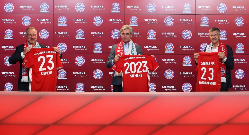 Portrait Shoot Siemens And FC Bayern