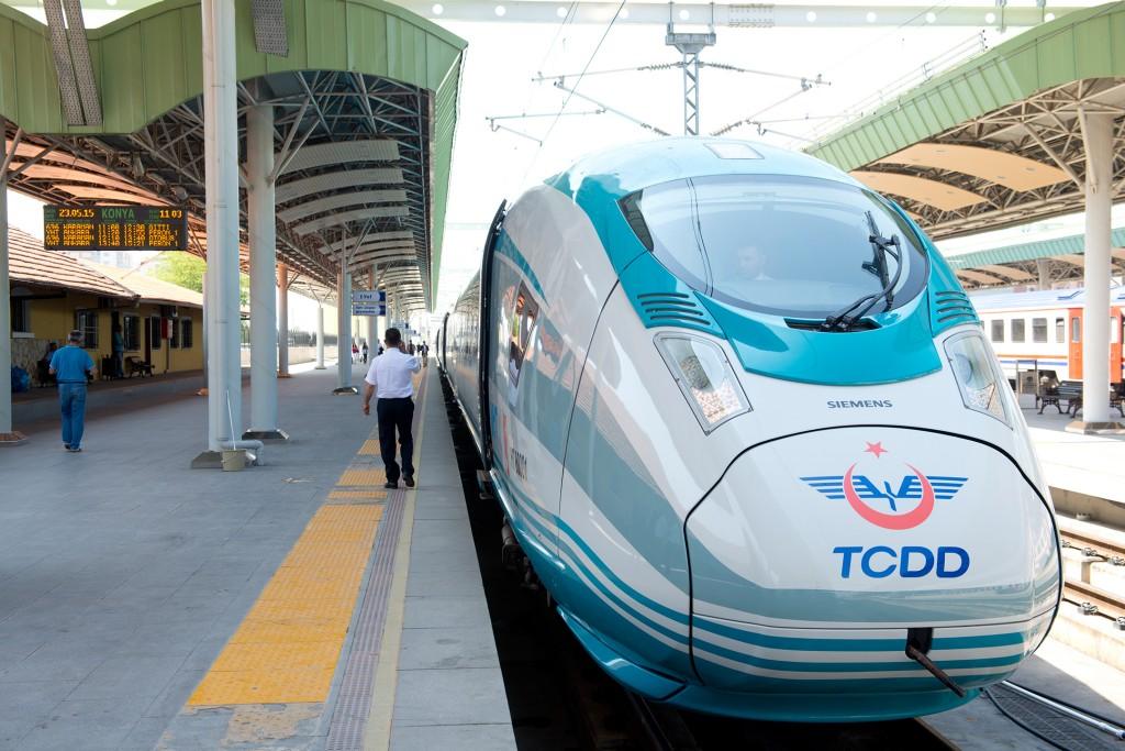 The High-Speed train Velaro for Turkey