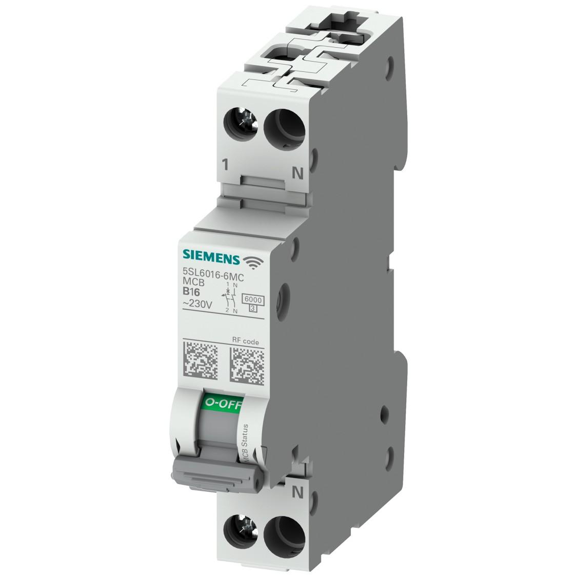 5SL6 COM miniature circuit breakers