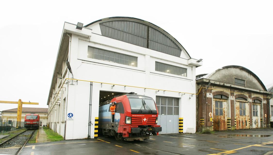 Novara Instandhaltungswerk Vectron