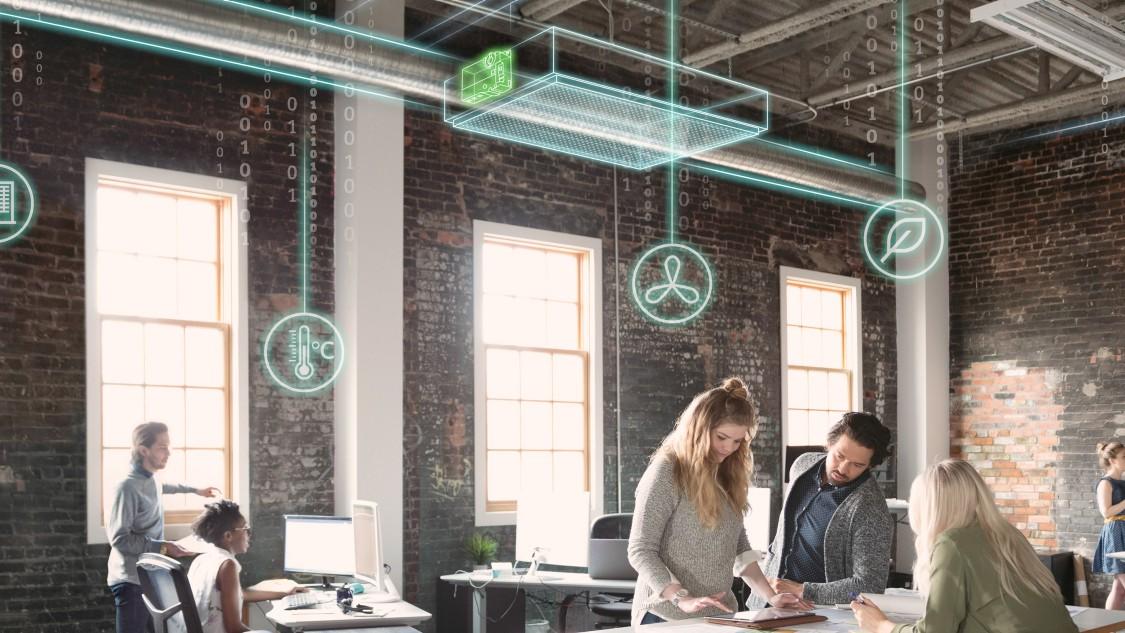 Vraaggestuurde ventilatie met Siemens OpenAir-aandrijvingen en besturingen