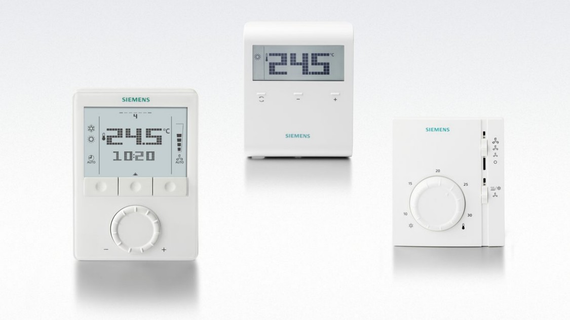 Siemens Thermostats non communicants