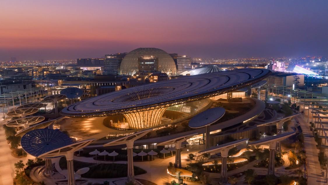 The Expo 2020 site in Dubai.