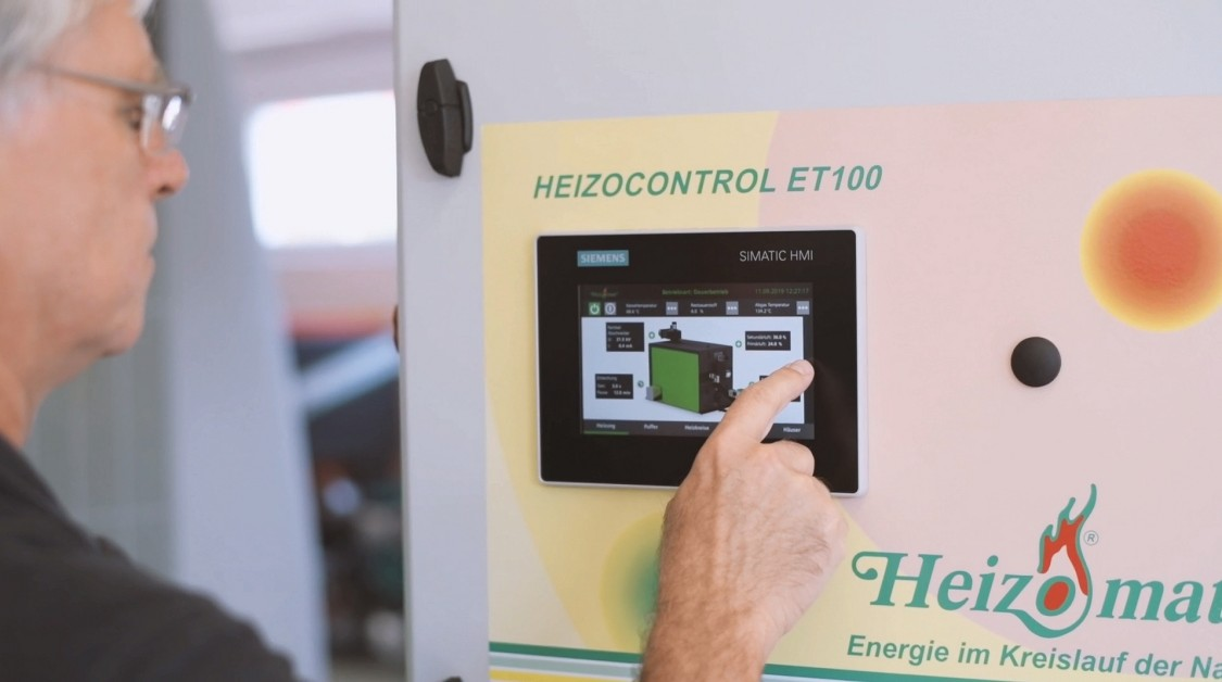 Heizomat GmbH Control Unit mit SIMATIC WinCC Unified System