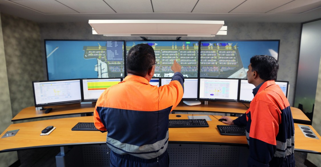 Система диспетчеризации терминала
