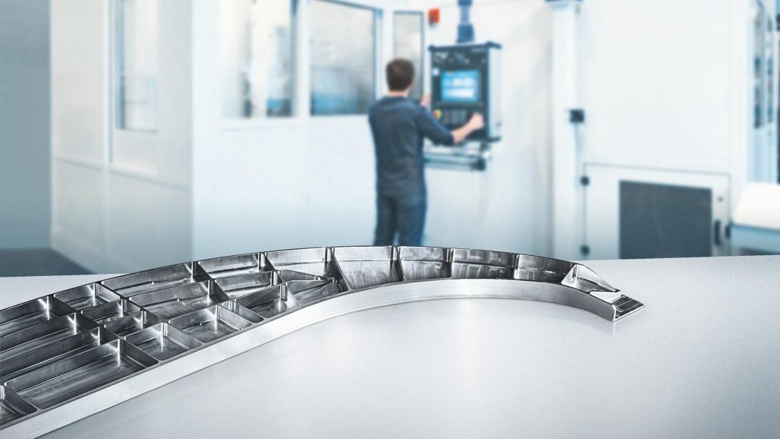 CNC in der Luftfahrtindustrie