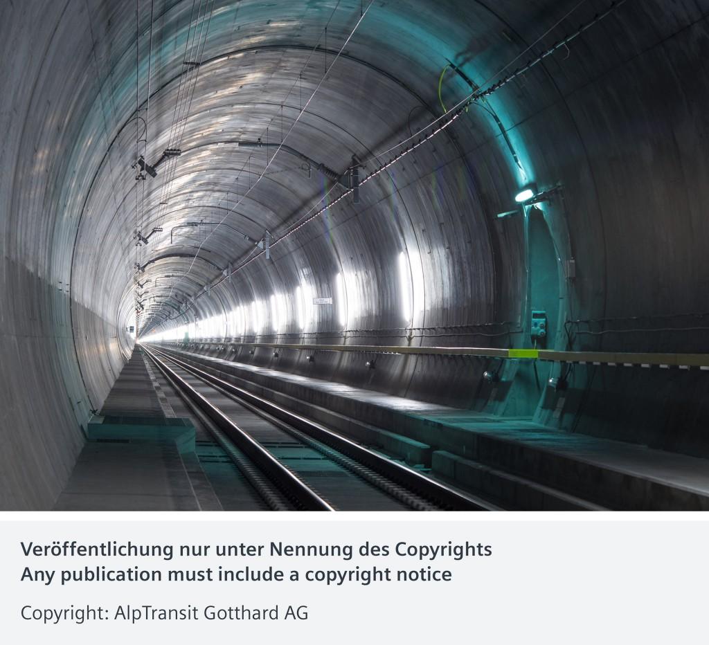 Unterhalt des Gotthard-Basistunnels