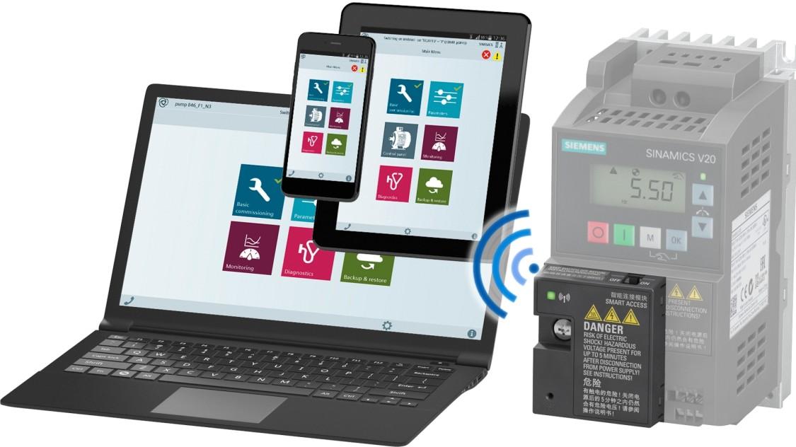 sinamics v20 smart access