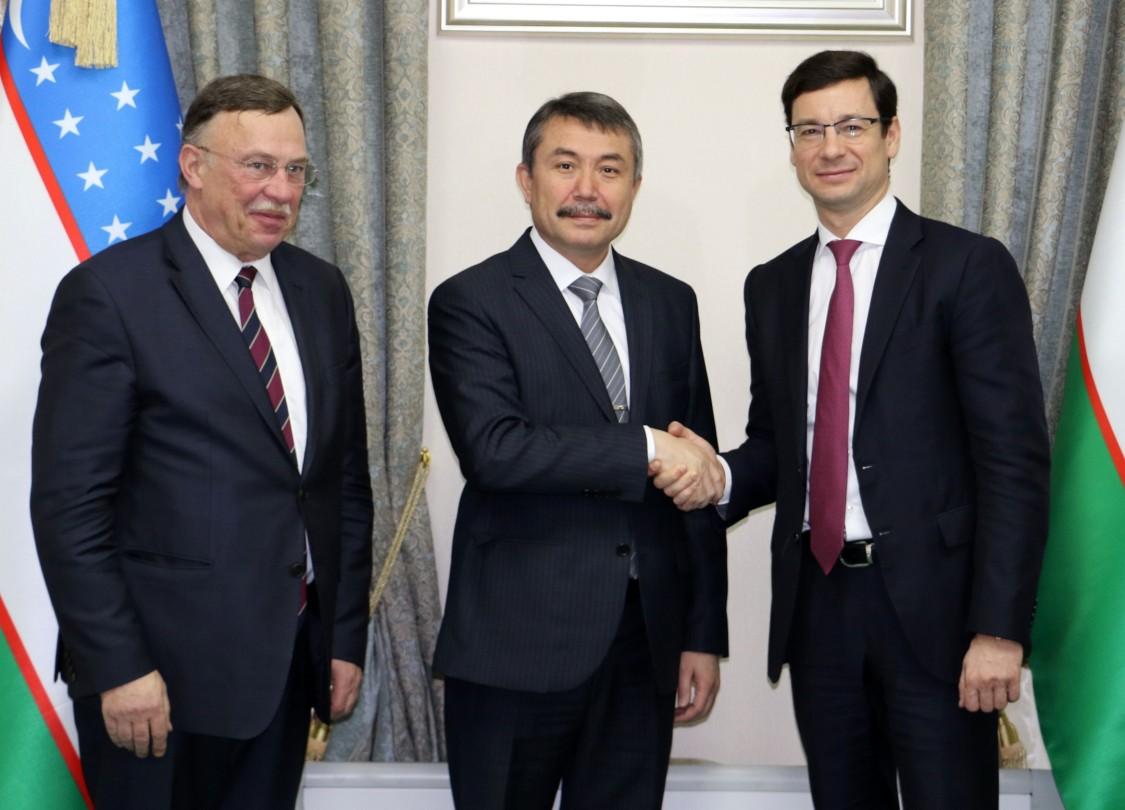 Встречи с партнерами в Узбекистане