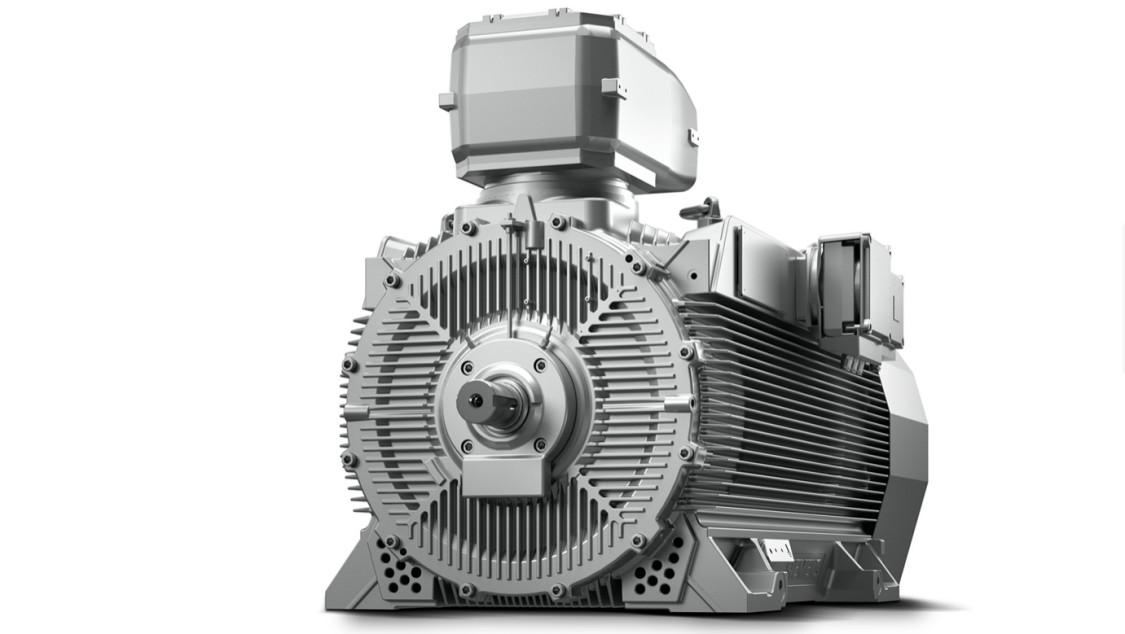 Високовольтні електродвигуни SIMOTICS HV C у вогнезахисному виконанні