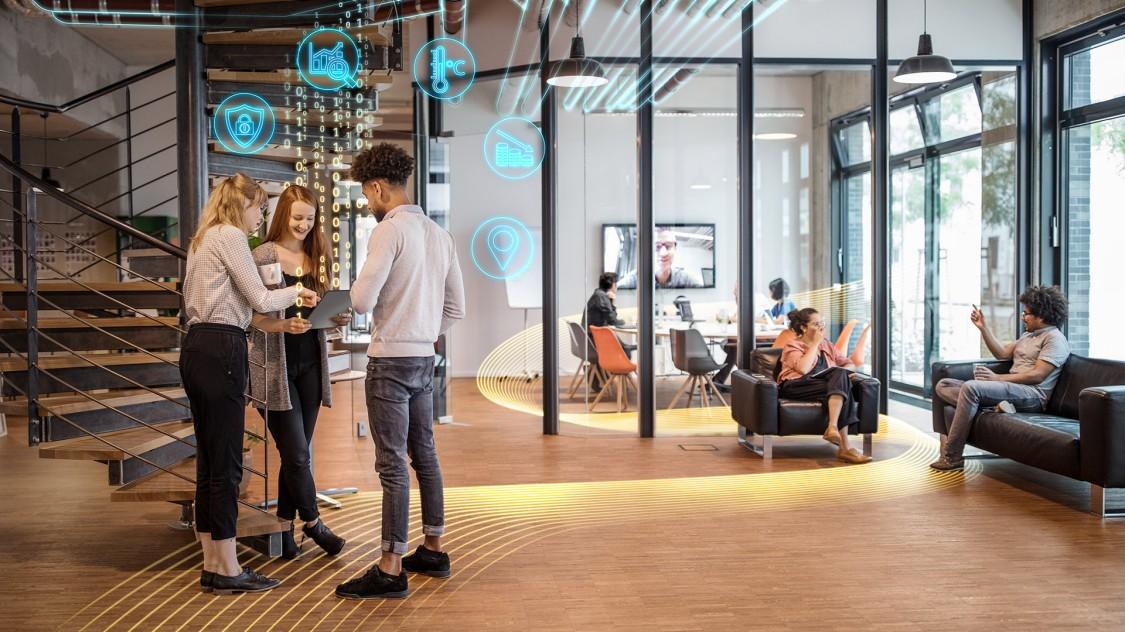 Smarta kontor - anpassar sig efter det nya normala