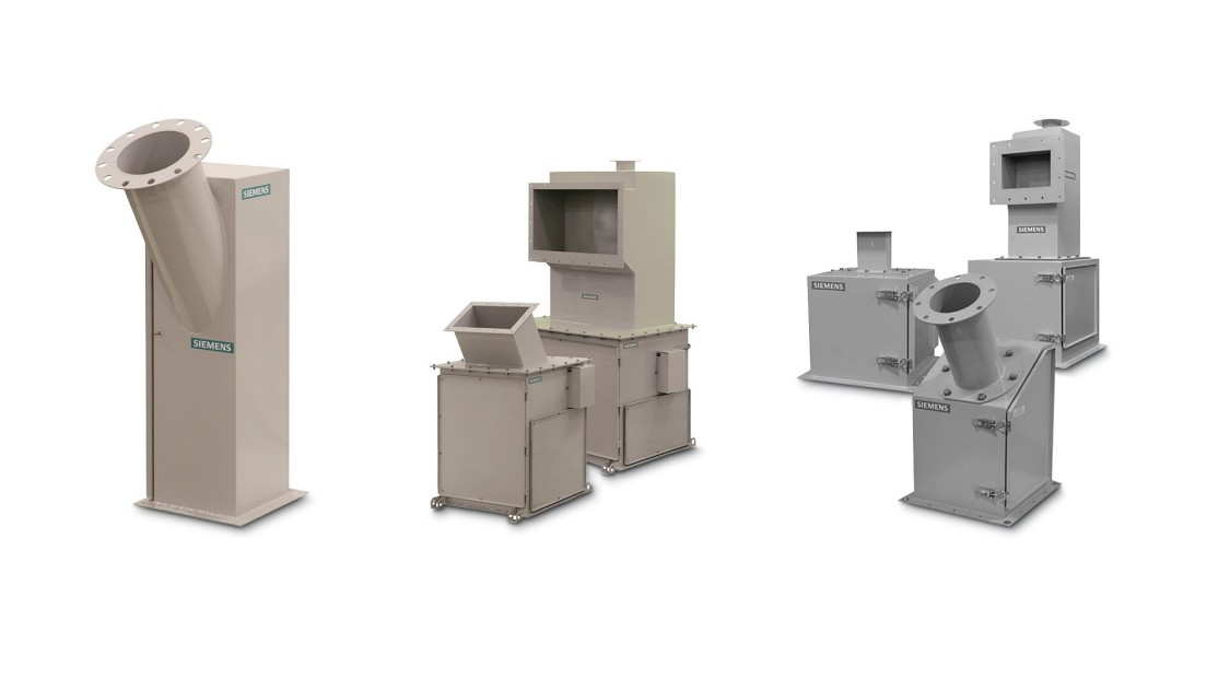 Dry solids flow meters for bulk material handling - USA