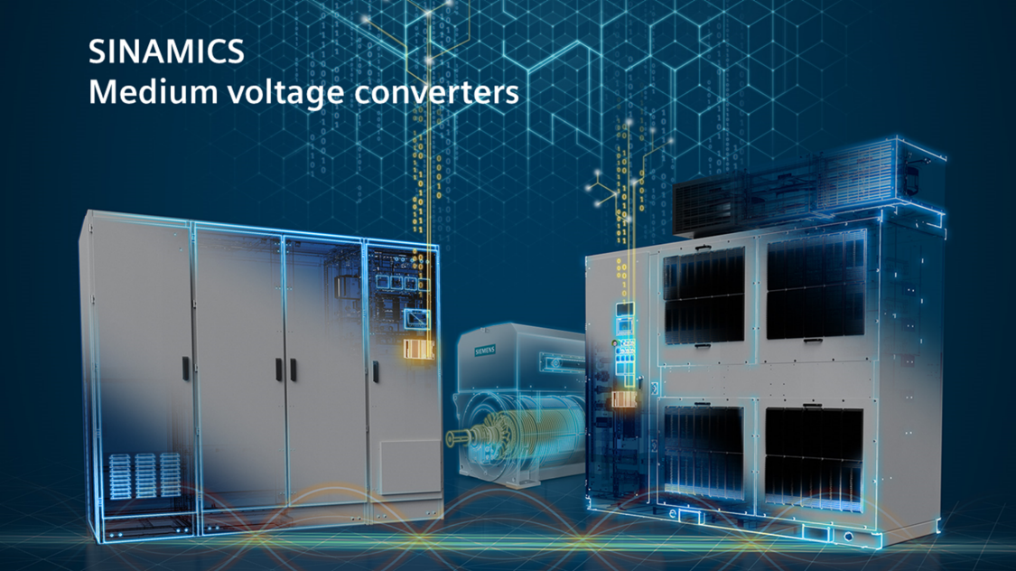 Key Visual SINAMICS Medium Voltage Converters
