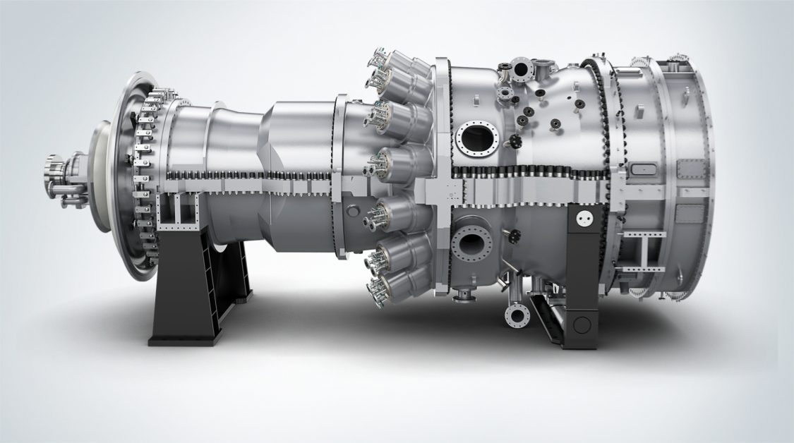 SGT6-5000F 重载燃气轮机