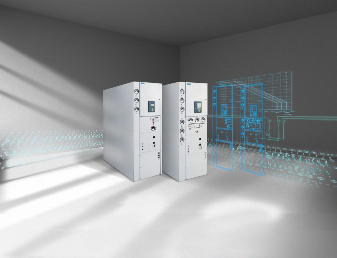 Розподільний пристрій з елегазовою ізоляцією 8DA/B --- 8DA11/8DA12 (системи тягового електропостачання)