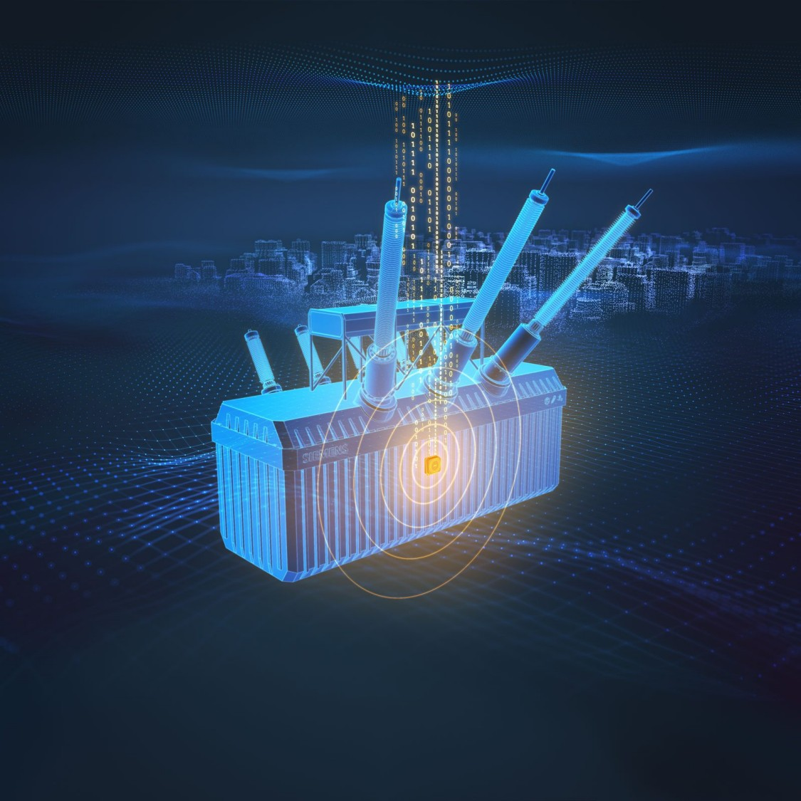 Sensformer: Transformers meet connectivity