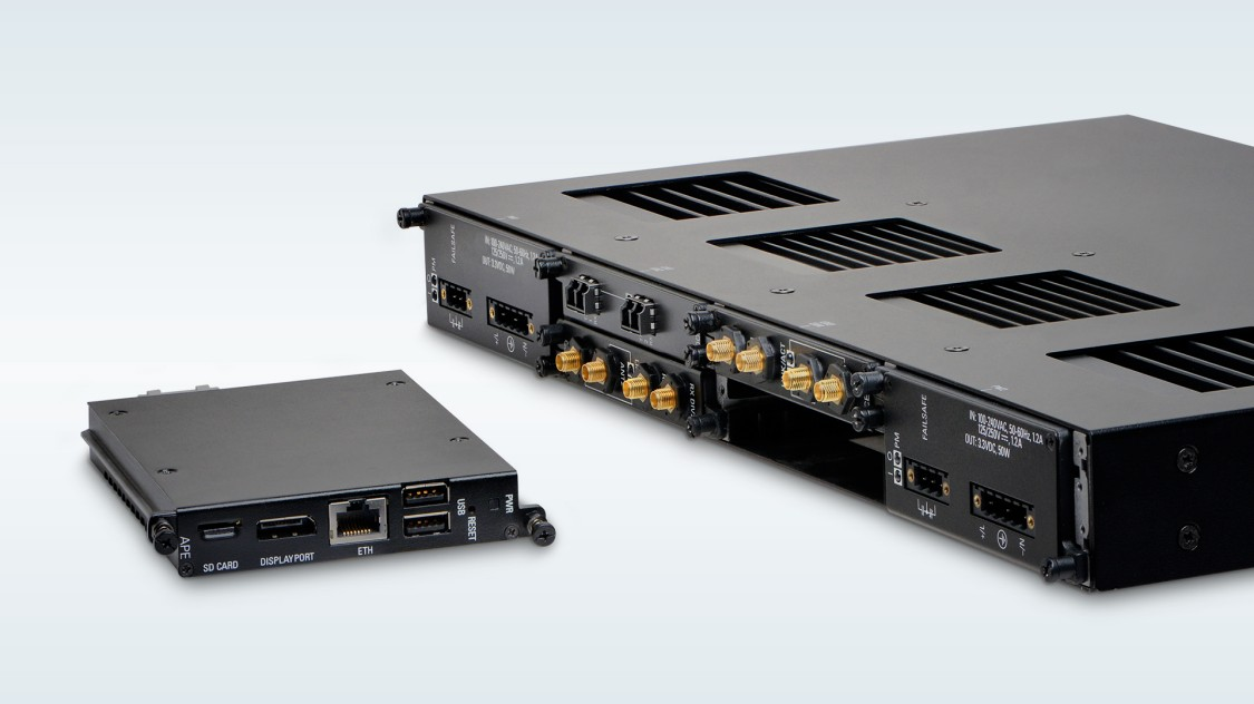 Industrial Application Hosting Platform RUGGEDCOM RX1500 with APE