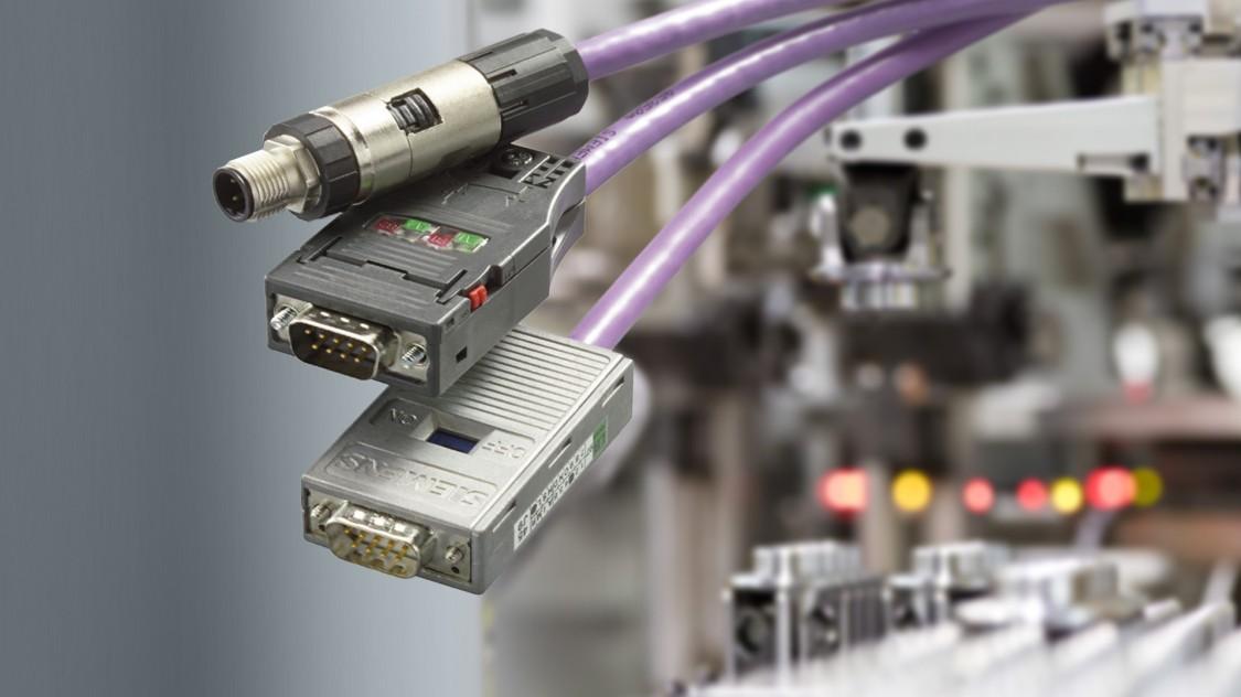 Tři druhy Siemens průmyslových kabelů PROFIBUS
