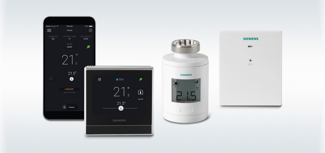 Smart Thermostat RDS110.R wireless