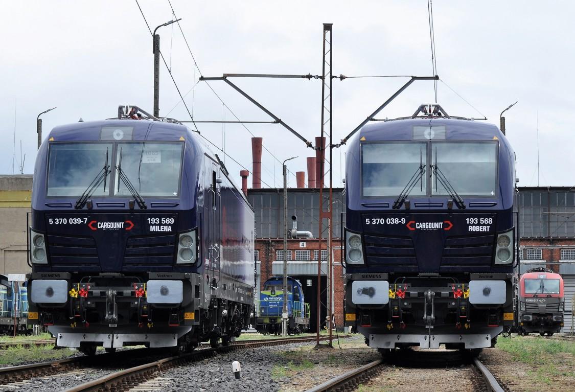 CARGOUNIT zamawia do 30 lokomotyw Vectron MS