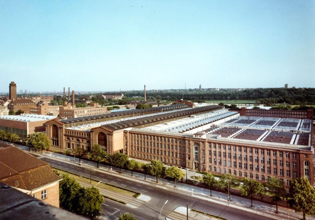 Aerial view of the Dynamowerk