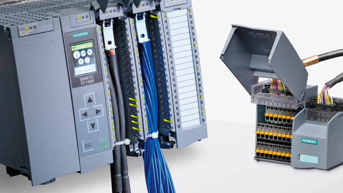 SIMATIC TOP connect system cabling