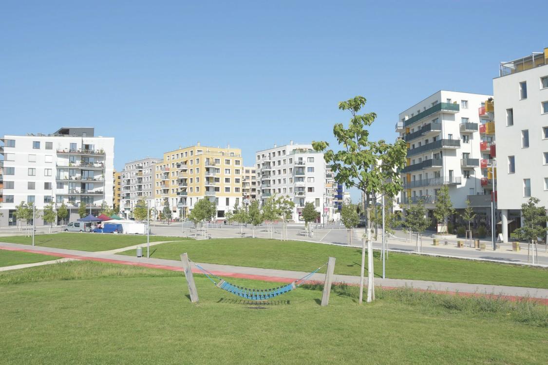 Die Seestadt Aspern ist ein lebendiges Labor für die urbane Energiezukunft. Technik von Siemens spielt dabei eine entscheidende Rolle.
