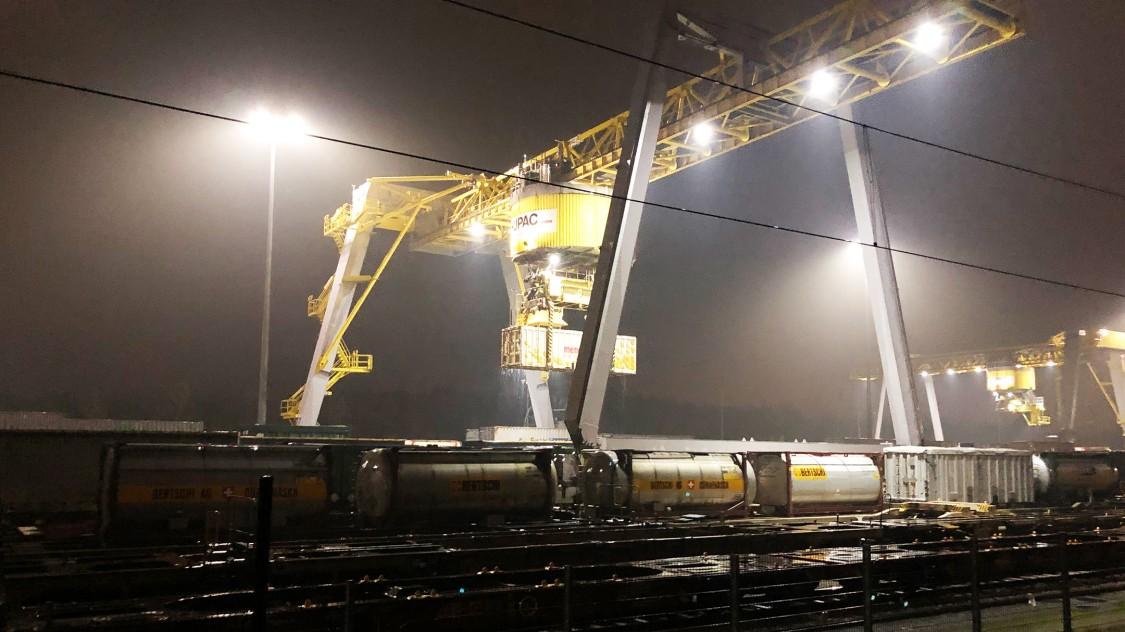 SBB Cargo Güterumschlag
