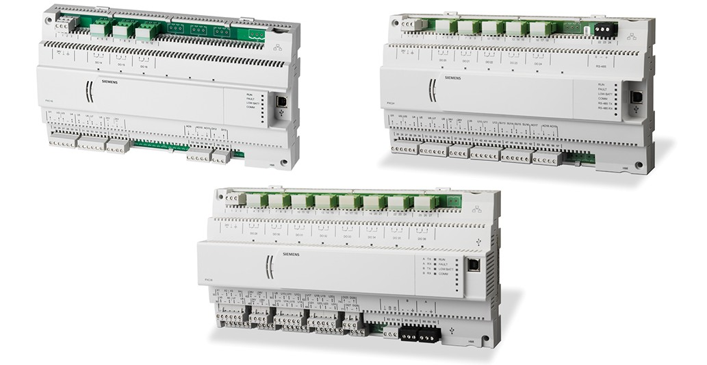 Siemens compact building automation controllers