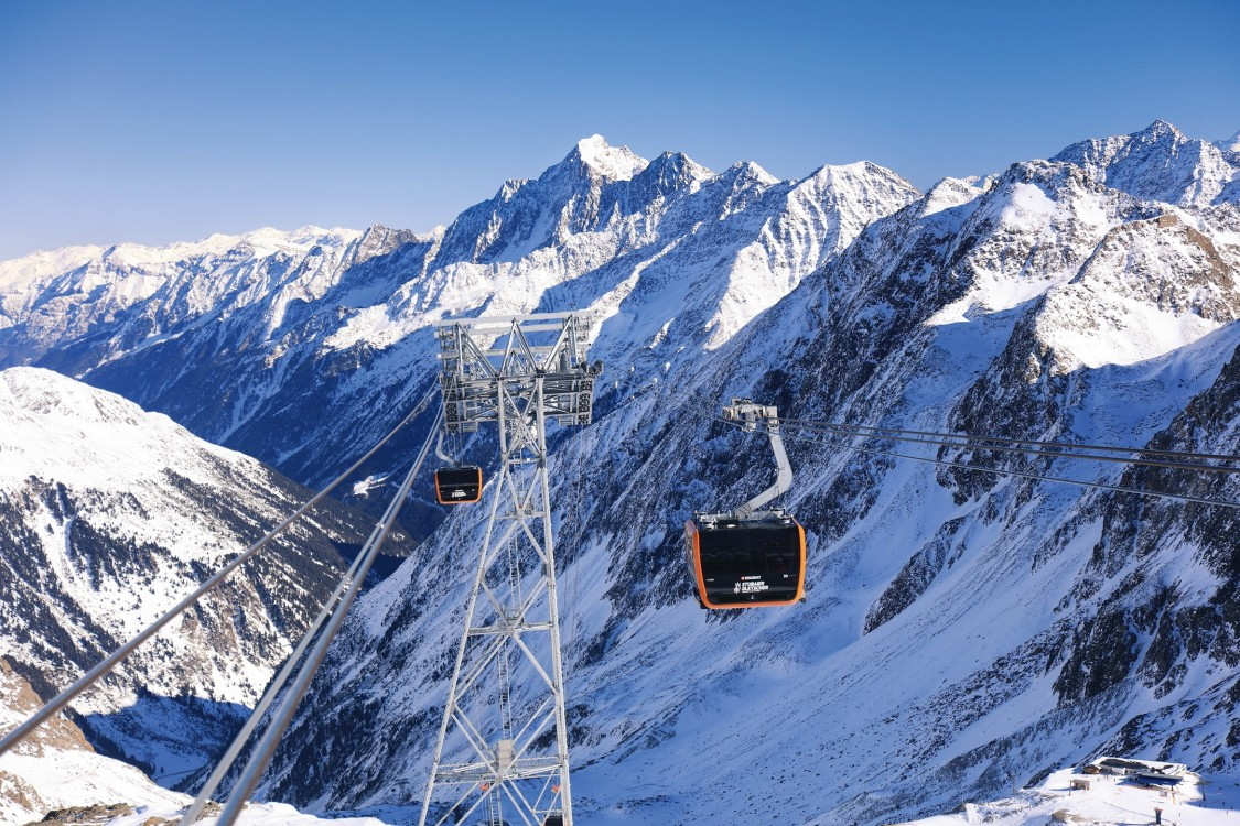 Stubai Glacier lift