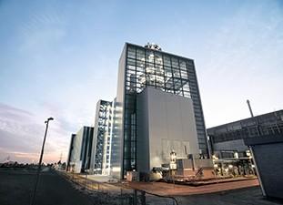 One power plant, three world records - Fortuna, the new landmark on Düsseldorf Harbor