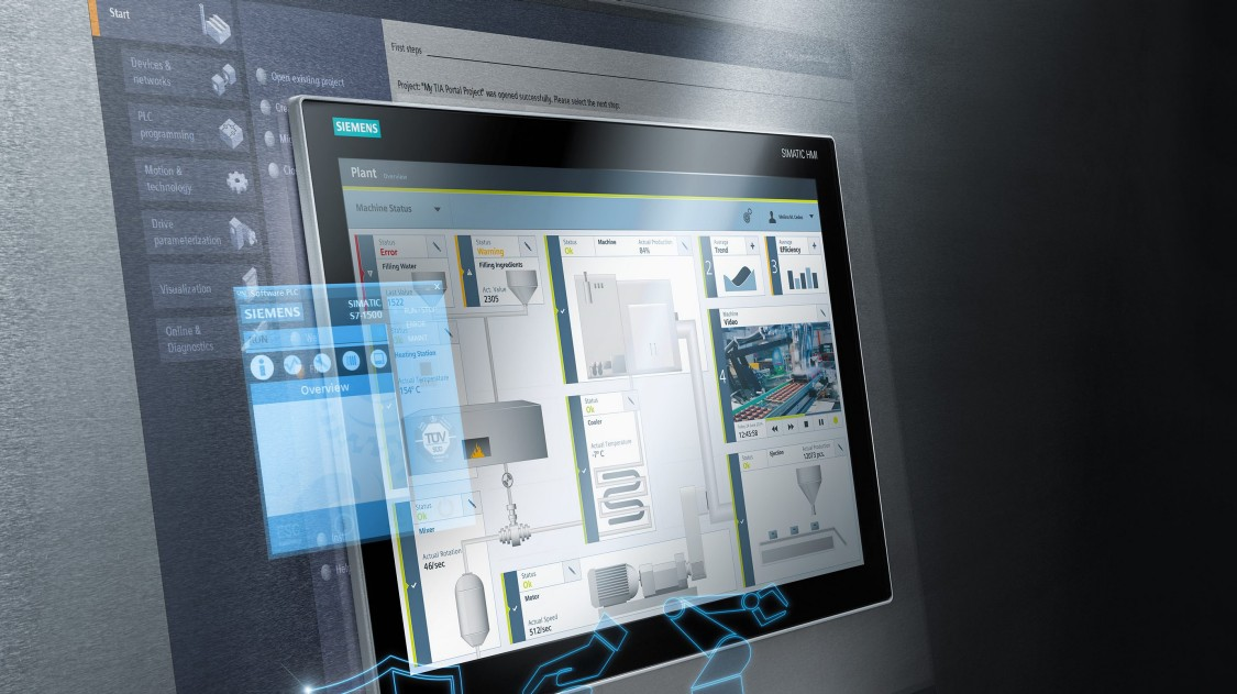 SIMATIC WinCC Runtime Advanced as PC-based HMI solution