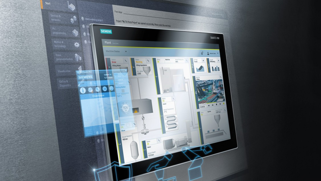 SIMATIC WinCC – the visualization software for all HMI applications