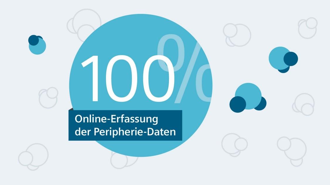 100% Online-Erfassung der Peripherie-Daten