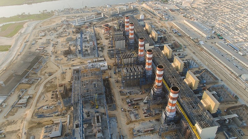 The worlds three largest combined cycle power plants