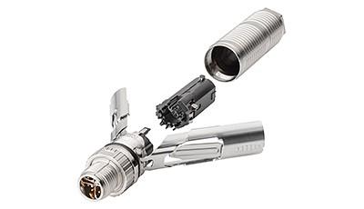 IE FC M12 Plug Pro connector