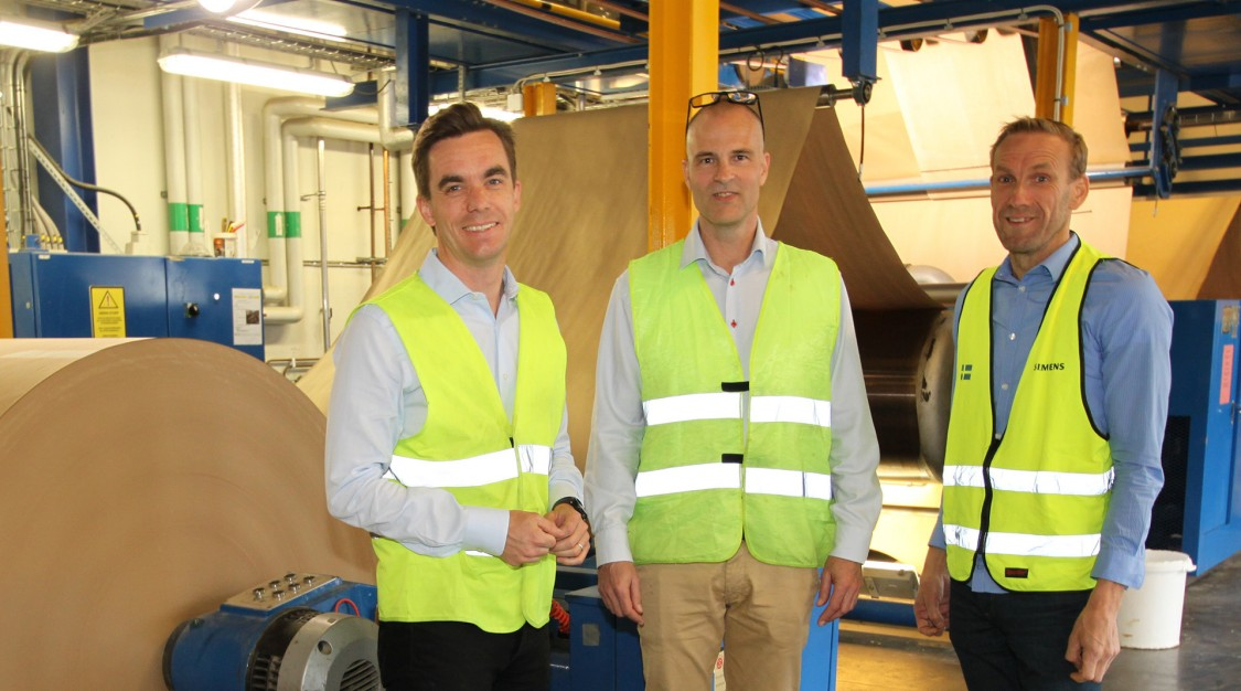 Migrering till Siemens automationsplattform TIA Portal hjälper Re-board växa