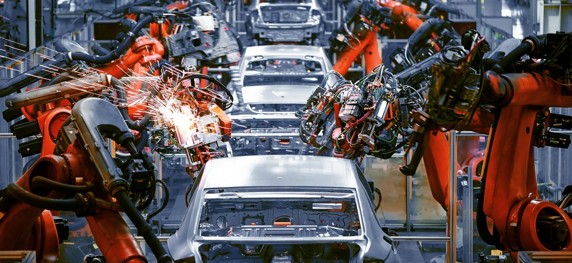 Automotive manufacturing line